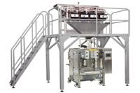 Stand up quad seal packing machine for granule